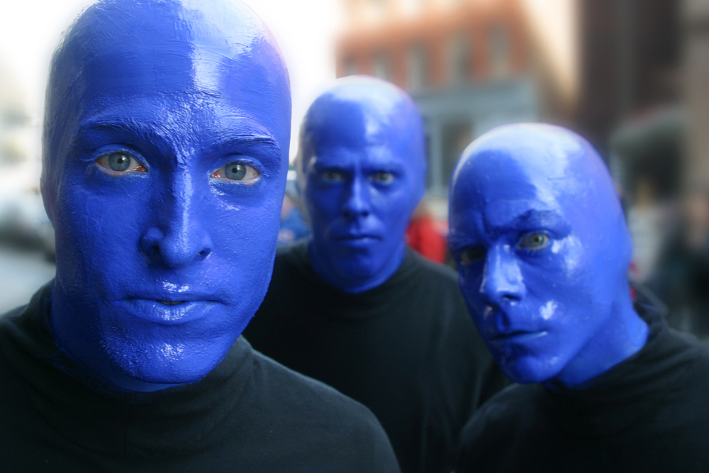 Blue Man Group Video 4